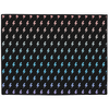 Lightning Indoor/Outdoor Floor Mat - Rainbow/Black