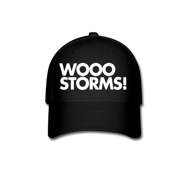 Wooo  Storms! Baseball Cap - black