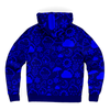 Weather Icon (Blue) Zip-Up Hoodie