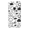 Weather Icon Phone Case - White/Black