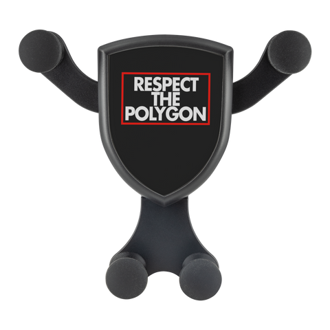 Respect The Polygon - Gravitis Wireless Car Charger