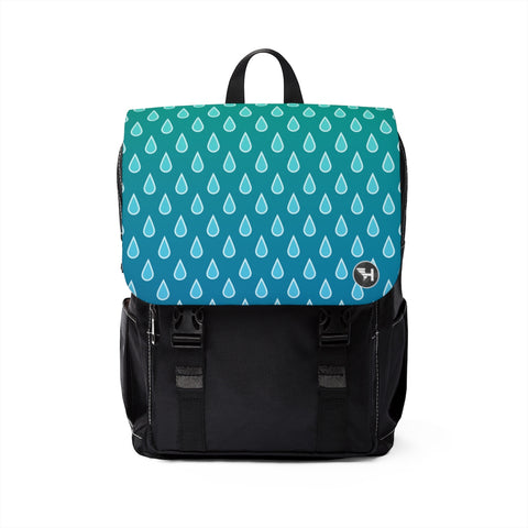 Raindrop Casual Shoulder Backpack