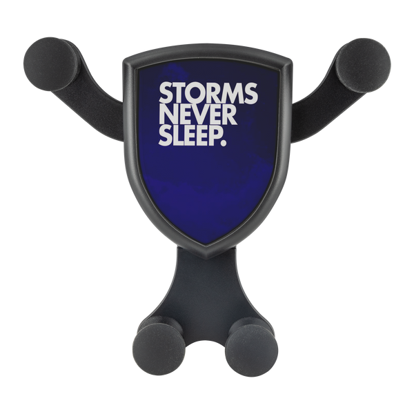 Storms Never Sleep. - Gravitis Wireless Car Charger