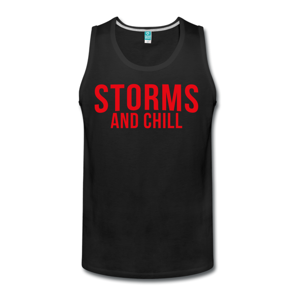 Storms and Chill Men's Tank - black