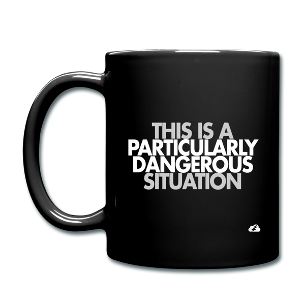 This is a PDS Mug - black
