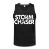 Storm Chaser Men's Tank - charcoal gray