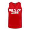 The Suck Zone Men's Tank - red