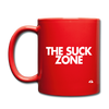 The Suck Zone Mug - red
