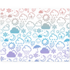Weather Icon Placemat - Rainbow