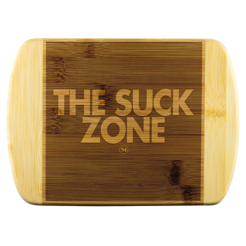The Suck Zone Cutting Board