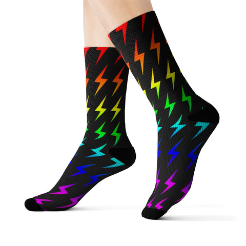 Lightning (Rainbow) Socks