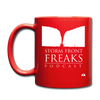 Storm Front Freaks Mug - red