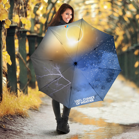 100% Chance of Weather Umbrella