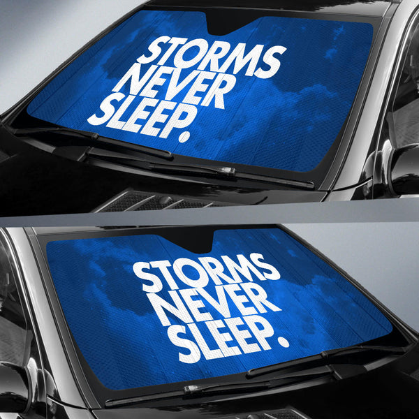 Storms Never Sleep. Sun Shield