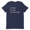 Single, Taken, Storm Chaser Unisex T-Shirt