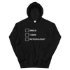 Single, Taken, Meteorologist Unisex Hoodie