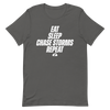 Eat, Sleep, Chase Storms, Repeat Unisex T-Shirt