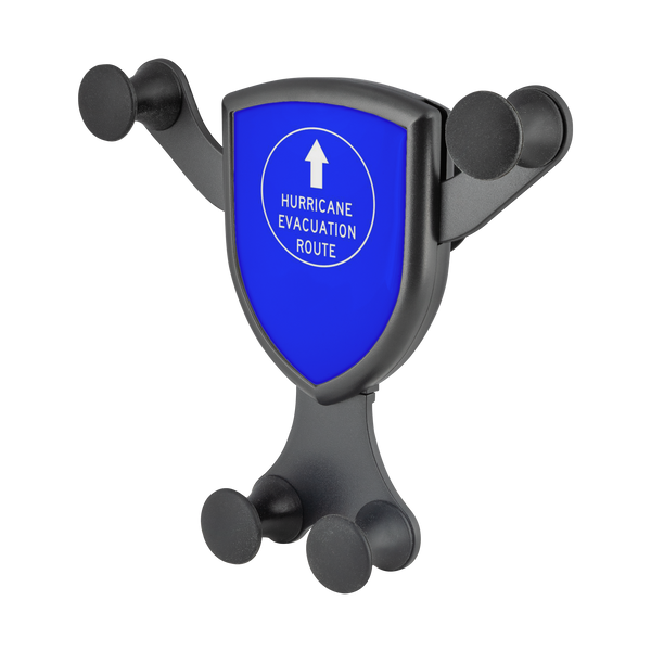 Hurricane Evacuation Route - Gravitis Wireless Car Charger
