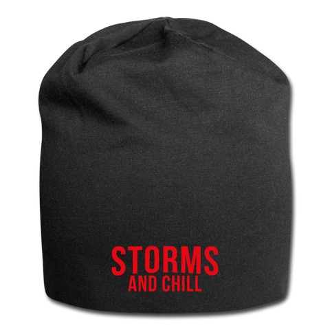 Storms and Chill Jersey Beanie