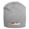 Hooked Jersey Beanie - heather gray