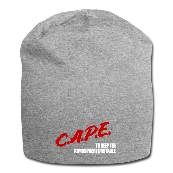 C.A.P.E. Jersey Beanie - heather gray