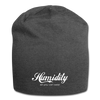 Humidity Jersey Beanie - charcoal gray