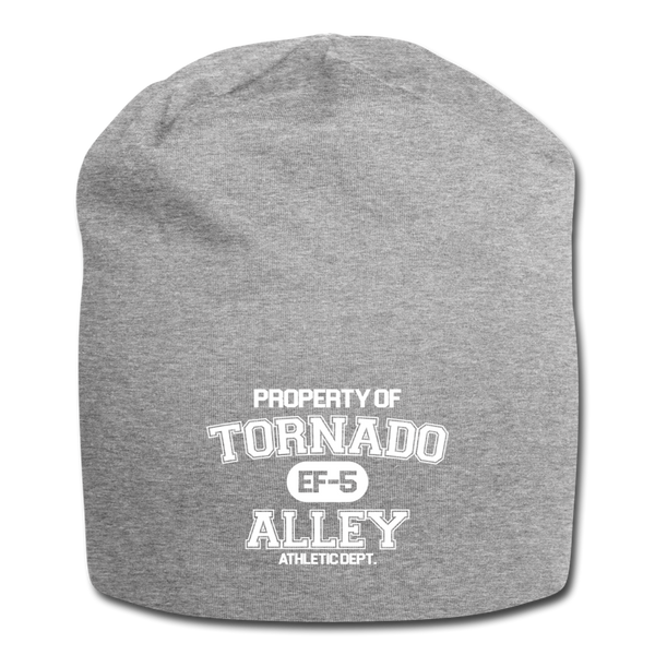 Tornado Alley Jersey Beanie - heather gray