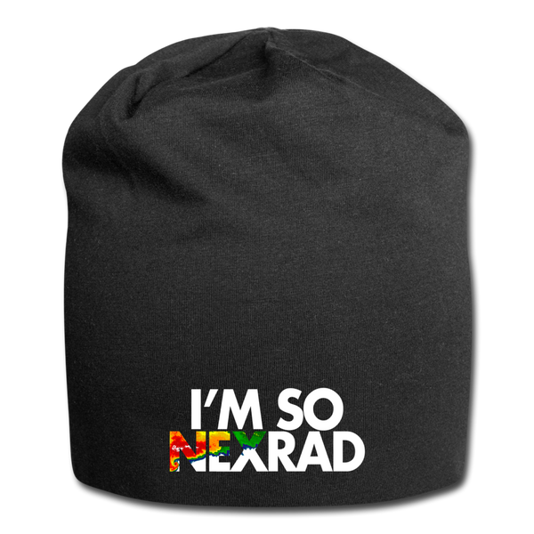 I'm So NEXRAD Jersey Beanie - black