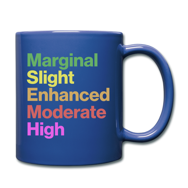 Severe Outlook Mug - royal blue
