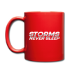 Storms Never Sleep Mug - black