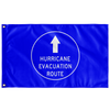 Hurricane Evacuation Route Flag