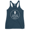 Hurricane Evacuation Route Women's Racerback Tank