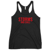 Storms and Chill Women's Racerback Tank
