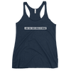 I Was Told There Would Be Wedges Women's Racerback Tank