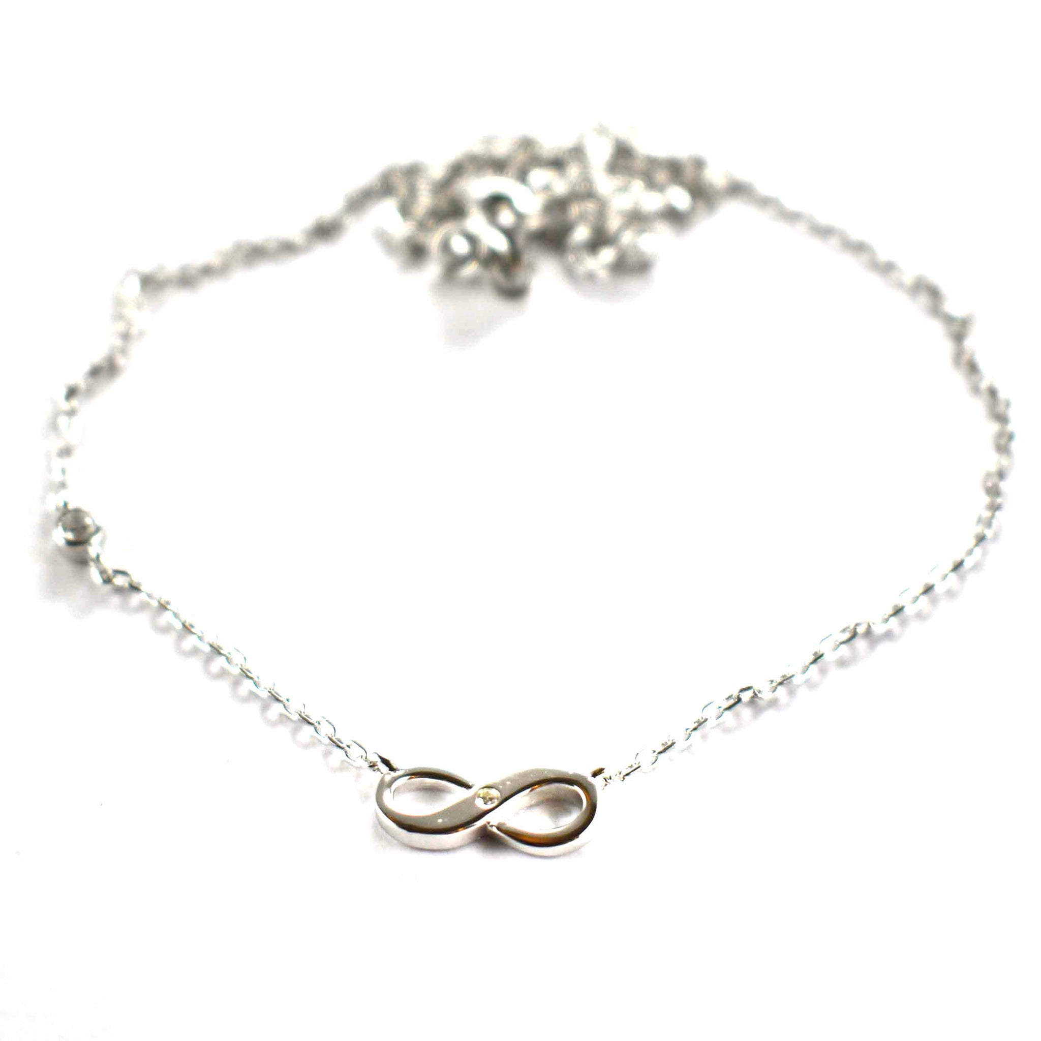 symbol com walmart silver sterling ip infinity necklace