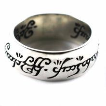Lord of the ring silver ring