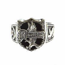 Raven claw silver ring
