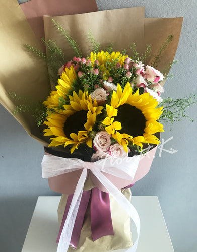 sunflower flower bouquet