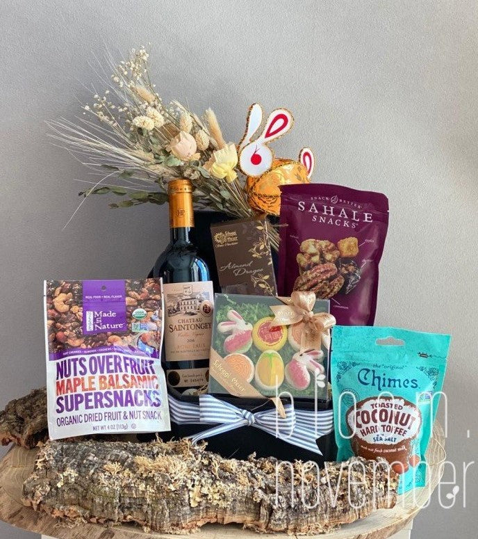 hamper 2020 wine choco bloom november 1299 luxe hamper with schoggi meier Macaron