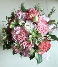 pink carnation bouquet motherday