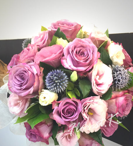 domed posy wedding flower