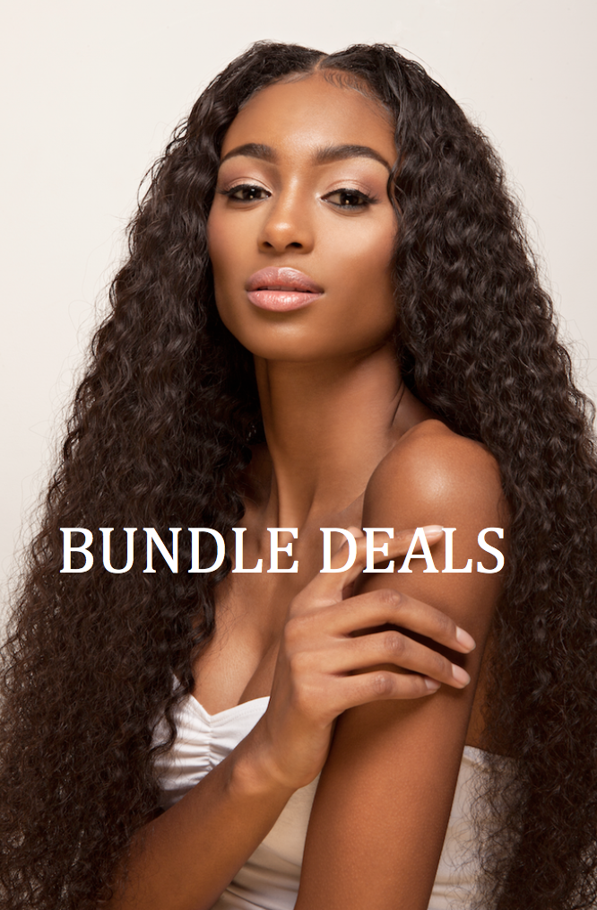 Afro Brazilain Curly Wave Bundle Deal