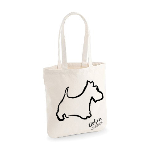Scottie Dog Canvas Bag