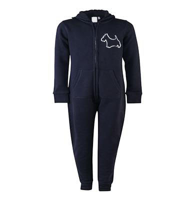 Scottie Dog Onesie (Adult)