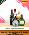 Precio especial en Buchanans, Gordons, Smirnoff, Don Julio, Baileys, Old Parr y Johnnie Walker