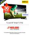 Televisor Samsung LED 49 Pulgadas Smart TV FHD