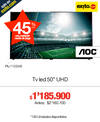TV LED 127CMS (50) UHD SMART