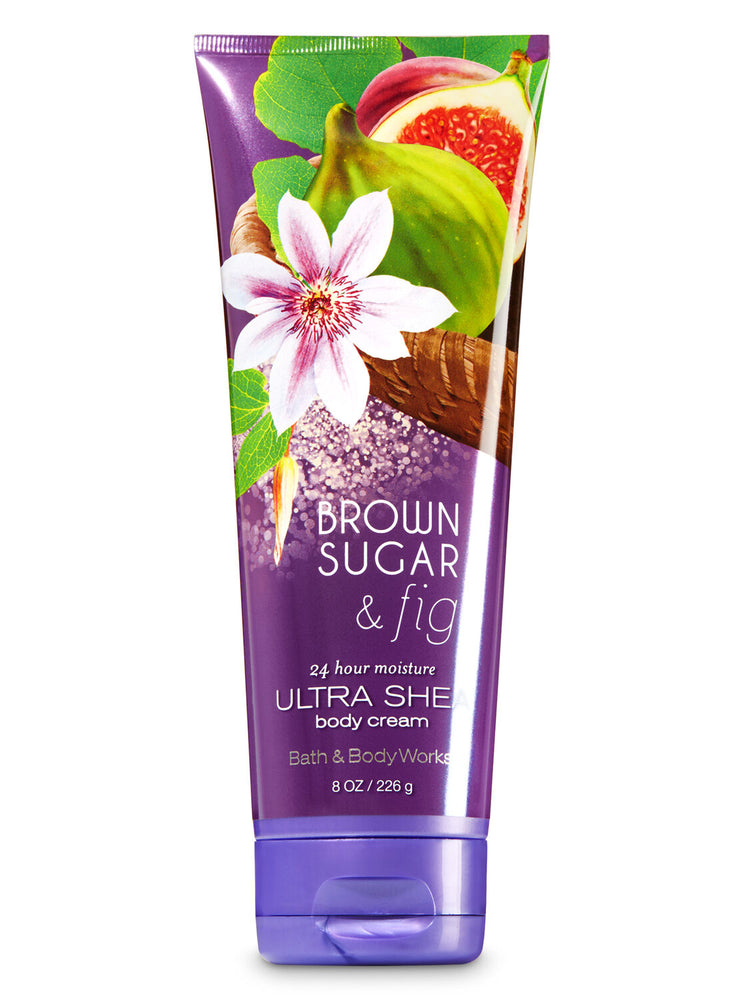 Bath & Body Works - Body Cream - Brown Sugar & Fig