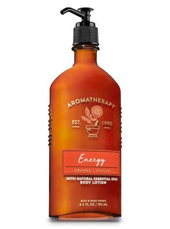 Body Lotion - Aromatherapy - Energy - Orange Ginger - 192ml