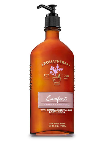 Body Lotion - Aromatherapy - Comfort - Vanilla & Patchouli - 192ml